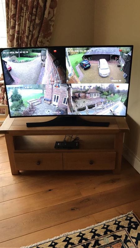 Image 4 - CCTV Monitor via main lounge TV