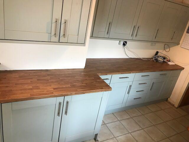 Image 51 - new oak effect worktops