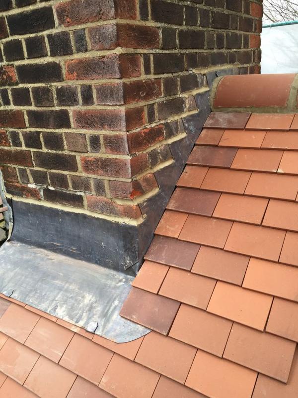 Image 29 - Step Flashing On Re-Roof - Hampstead, London