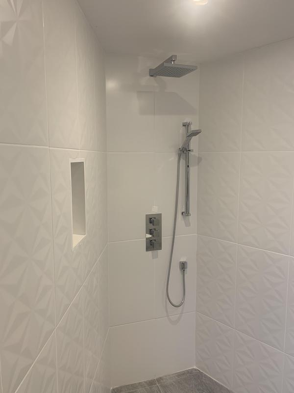 Image 12 - Bathroom installation for a client on a tight budget, wet room was required for the client child.