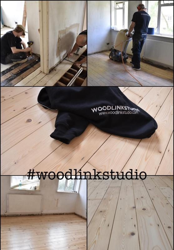 Image 15 - Original pine boards restored