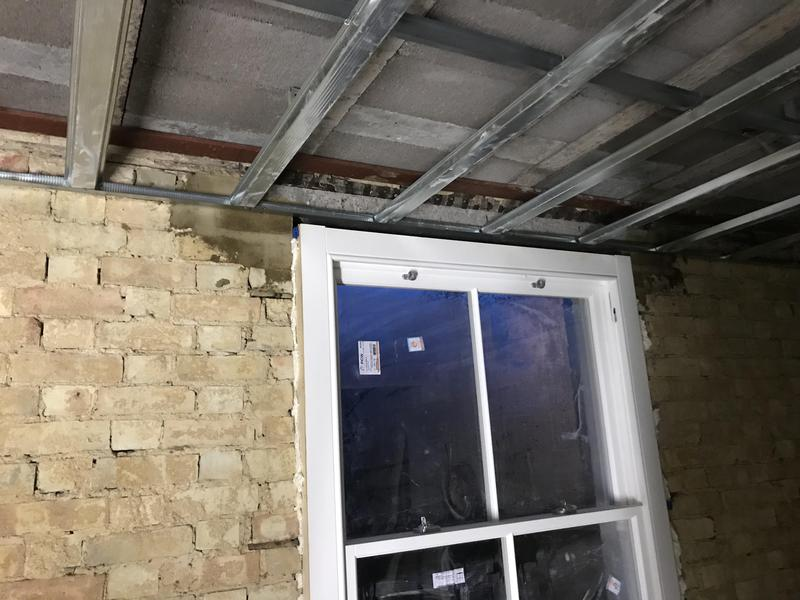 Image 22 - Suspended metal ceiling for plasterboarding