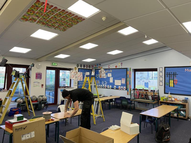 Image 85 - School lighting
