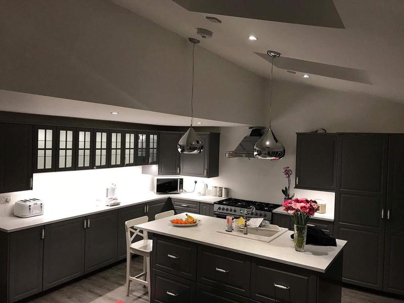 Image 39 - Kitchen re-wire: lights, extractor fan, appliance installation, under cupboard lights