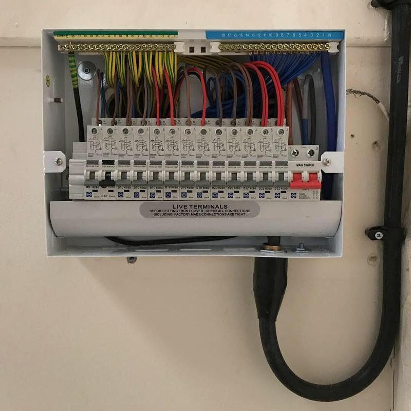 Image 8 - Commercial / Industrial fuseboard Installation