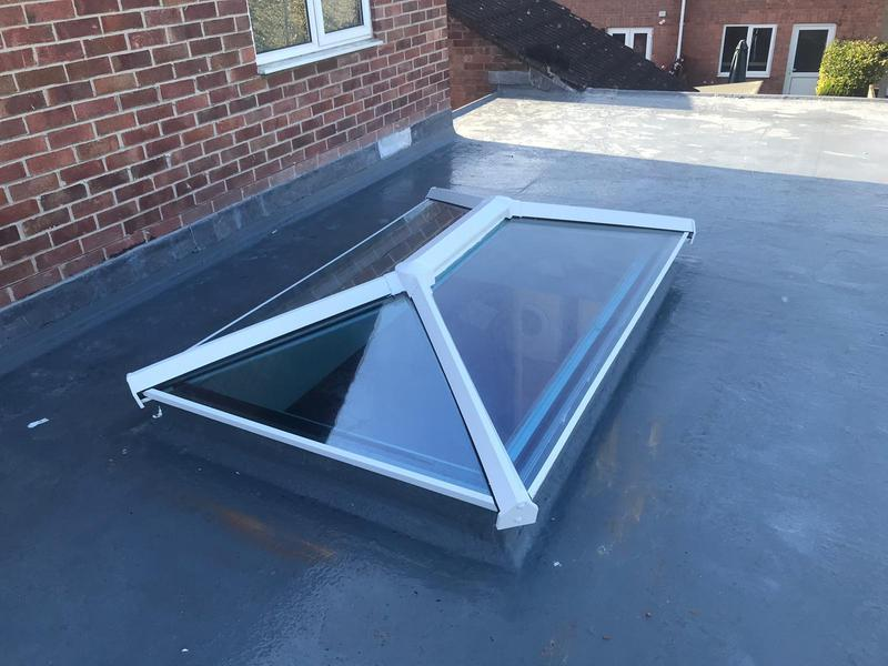 Image 2 - New roof lantern (outside)
