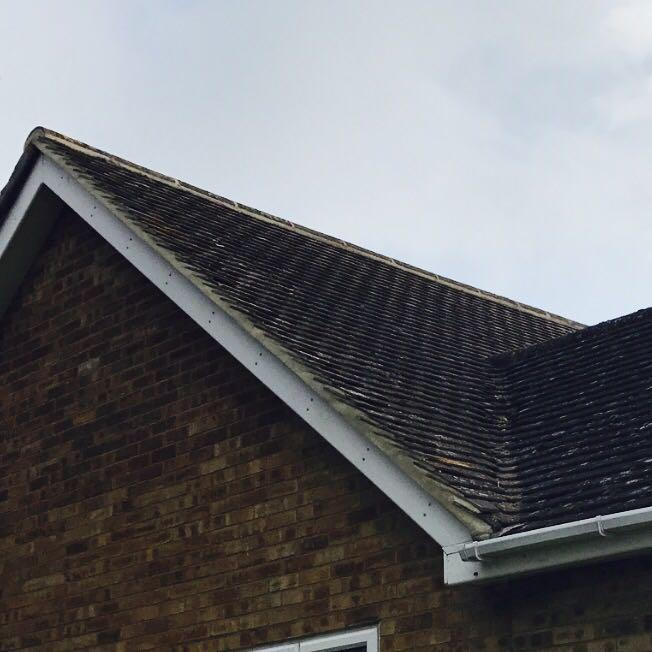 Image 12 - Roof repairs verge and ridge tiles