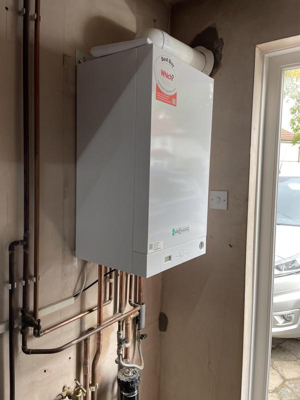Image 2 - New Viessman boiler installation