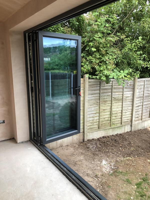 Image 30 - Bi-Fold doors installation