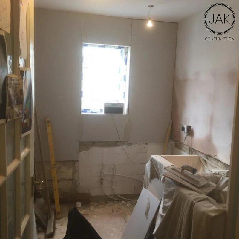 Image 42 - During kitchen renovation