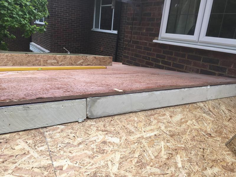 Image 63 - After the roof structure was complete, we boarded it out in 12mm OSB board then added the 120mm insulation and fitted 18mm ply over the top (known as a warm deck) ready for the roofers.