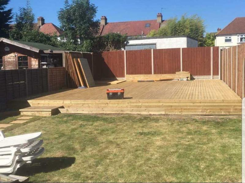 Image 28 - coming to the end with huge decking area ( Sutton)