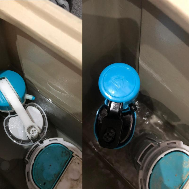 Image 29 - Replaced the fill valve on this cistern