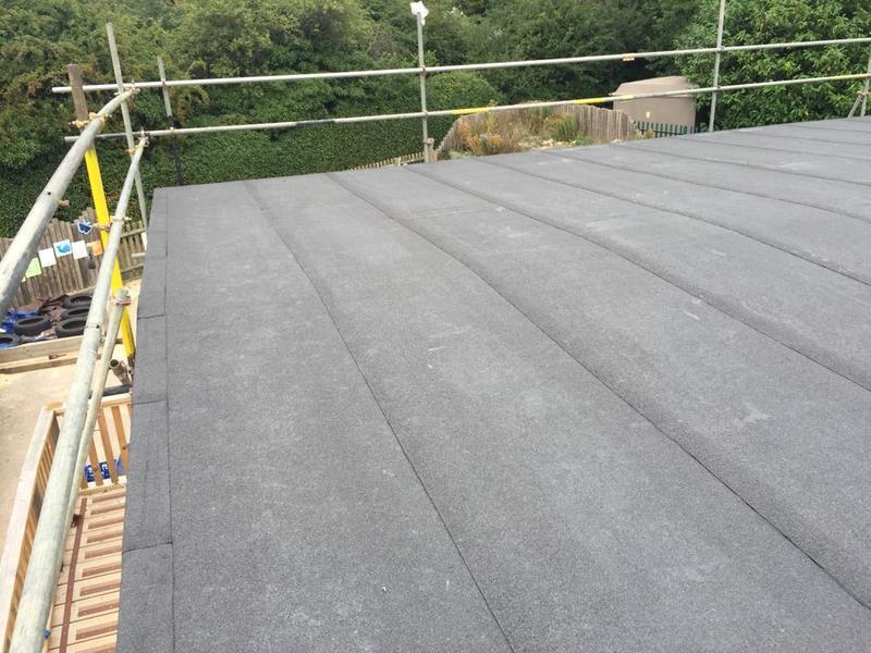 Image 49 - Torch On Felt Re-Roof & Replacement Ply Boards - Longmeadow School, Stevenage