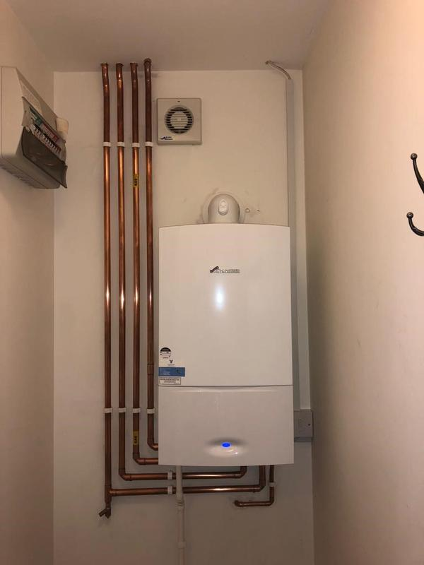 Image 40 - New Worcester Bosch boiler fitted for a customer in Royston.