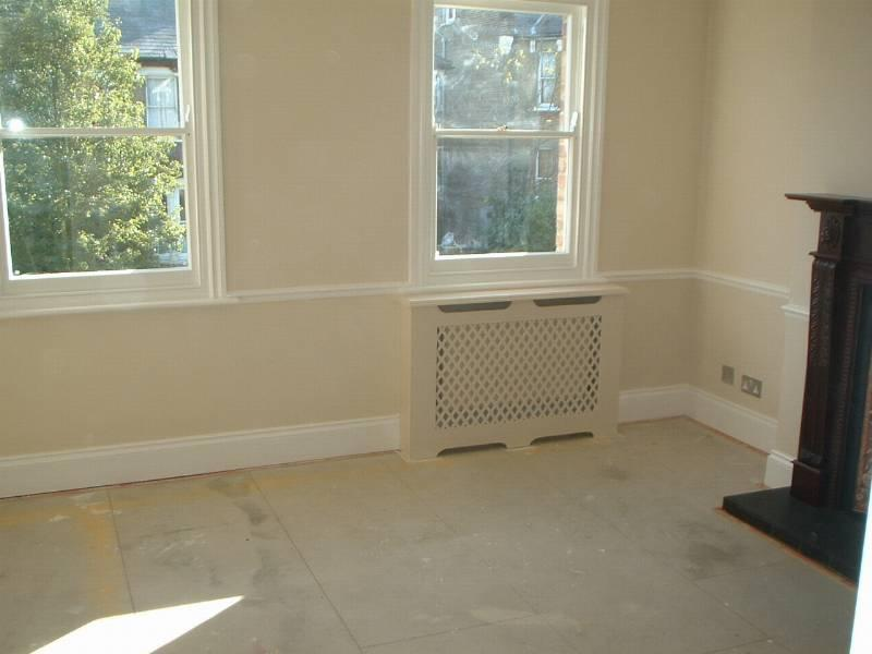 Image 85 - New coving, fireplace, radiator covers and complete redecoration