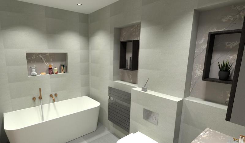 Image 23 - Bathroom design.