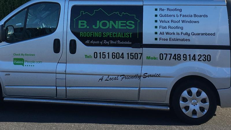 B Jones Roofing logo