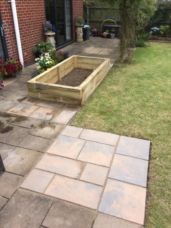 Image 29 - Patio exstention and raised sleeper bed leamington spa