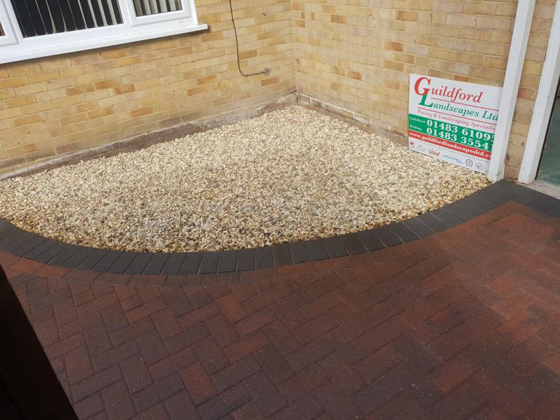 Image 8 - Block paving patio with artificial grass in Farnborough