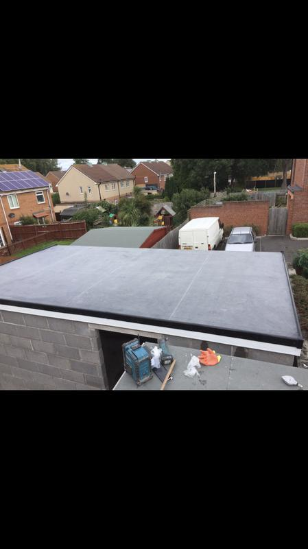Image 47 - New flat roof on a garage in Bristol