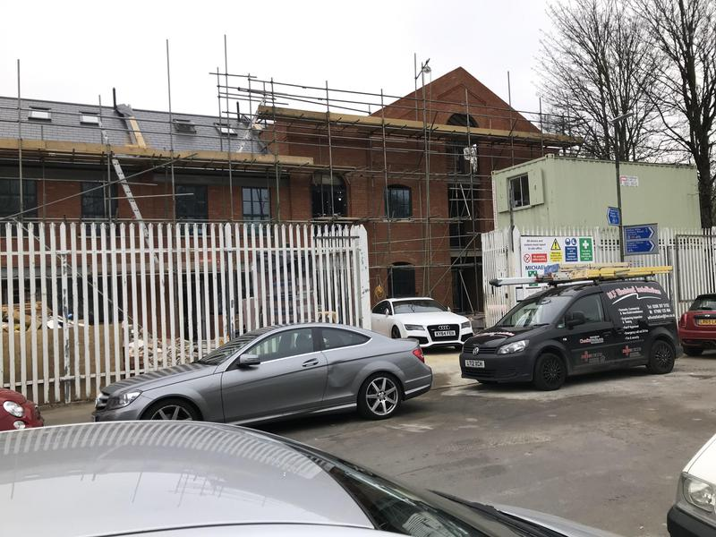 Image 6 - Electrical installation on new build site