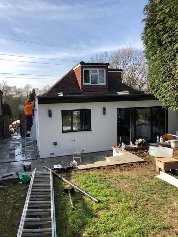 Image 21 - Rear extension, new kitchen, bathroom, Watford