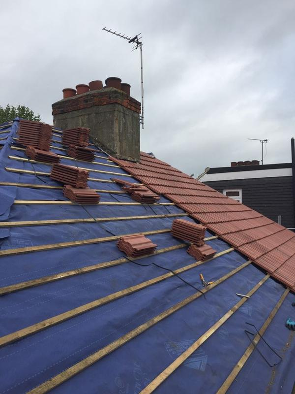 Image 4 - hornchurch roof during work