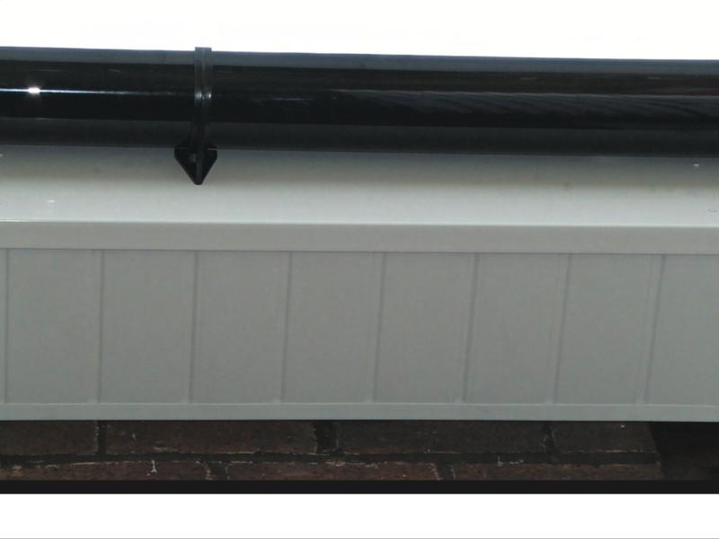 Image 95 - Newly installed Fascia, Soffitts and guttering.