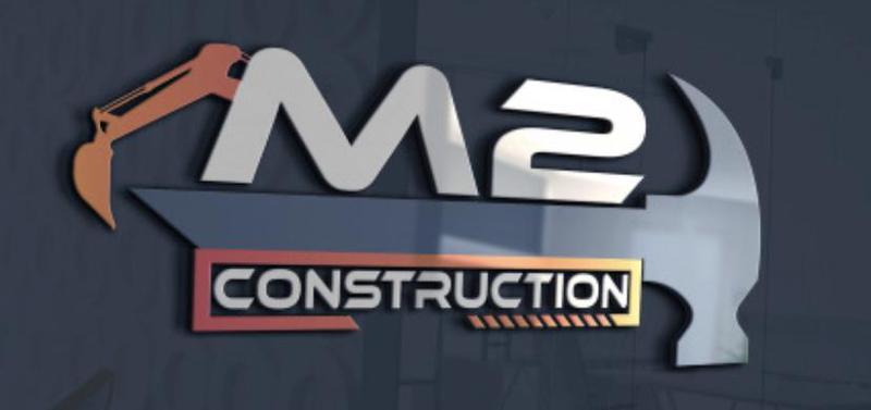 M2 Construction logo