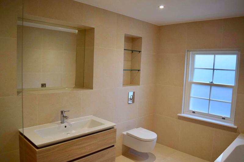 Image 23 - Bathroom tiling