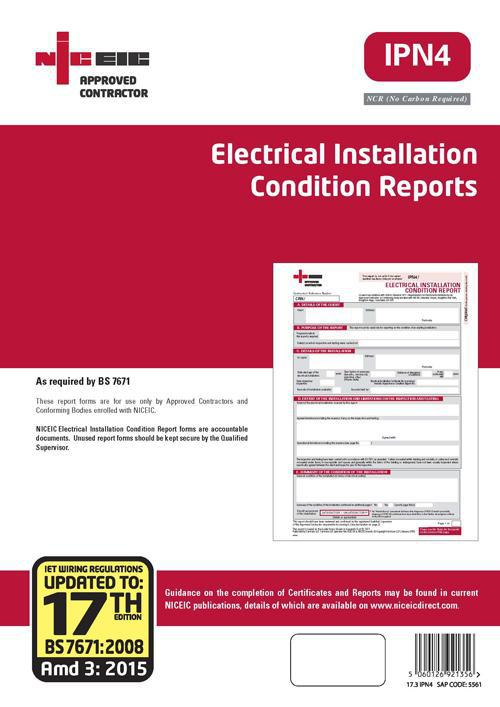 Image 1 - Electrical Installation Condition Reports
