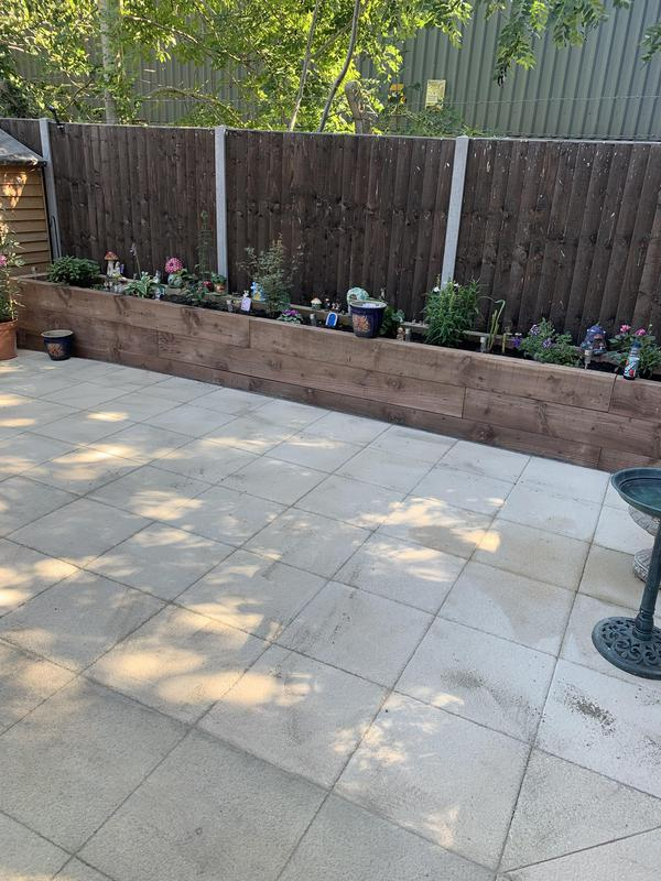 Image 4 - New Patio and Sleepers for raised beds in Maidstone.