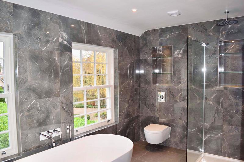 Image 20 - Bathroom tiling, Cobham