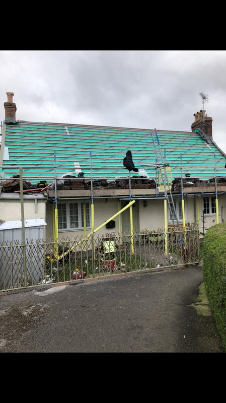 Image 31 - Re-roof for Bristol water in Banwell