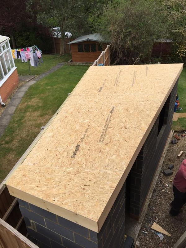 Image 34 - Small GRP Shed Roof - Stevenage, Hertfordshire