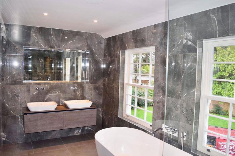 Image 19 - Bathroom tiling, Cobham