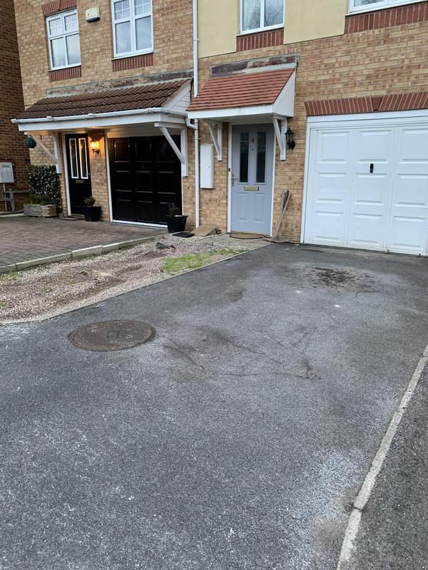 Image 1 - Old Driveway before installing new one