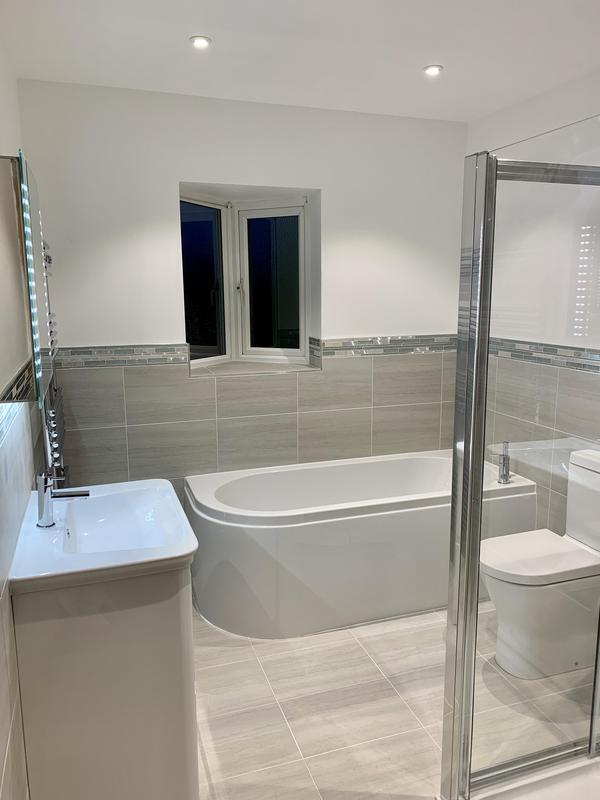 Image 2 - AFTER. Bexleyheath Bathroom refurb