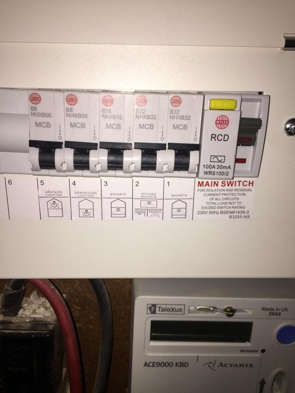 Image 22 - Replacement consumer unit. Bryden Electrical
