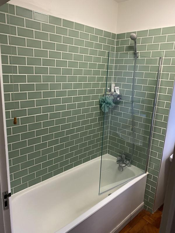 Image 28 - New bath mixer tap and bath screen fitted in Brixton area