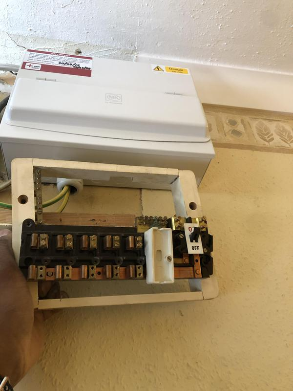 Image 1 - Old to New consumer dual rcd unit.