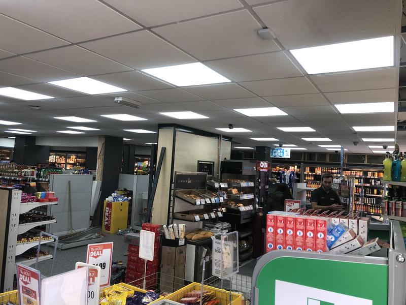 Image 44 - LED lighting to a supermarket