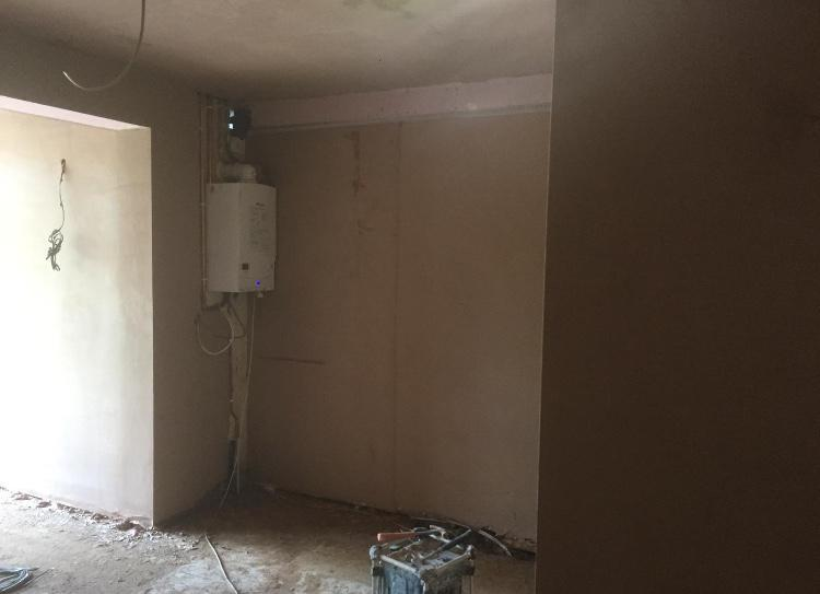Image 42 - All new extension boarded and skimmed floor had to be screeded