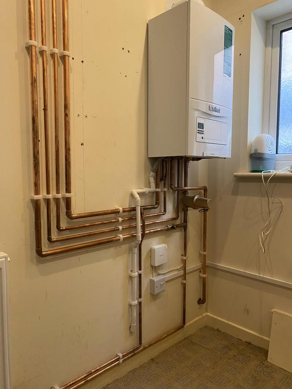 Image 3 - Boiler and heating system installation.
