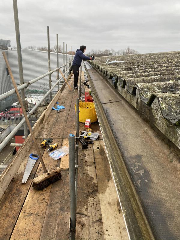 Image 61 - Industrial gutter repairs