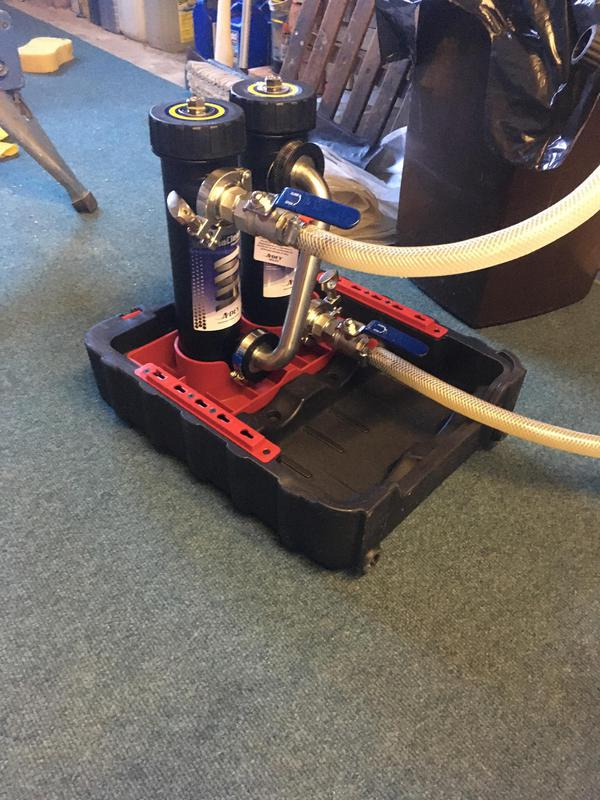 Image 25 - Power clean the dirty water in a central heating systems.