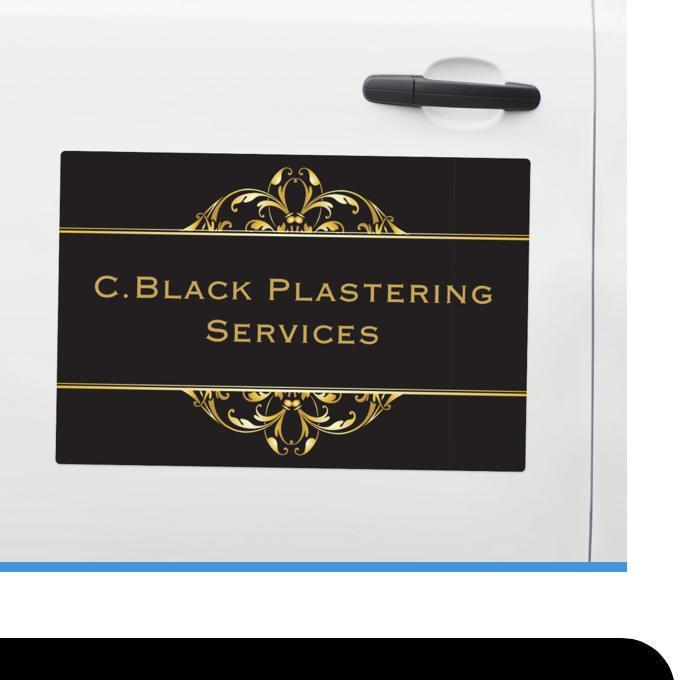 C Black Plastering Services logo