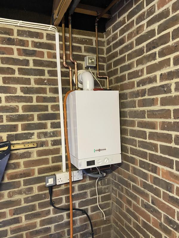 Image 9 - New 26 kw heat only Viessmann boiler in Horley 10 year warranty