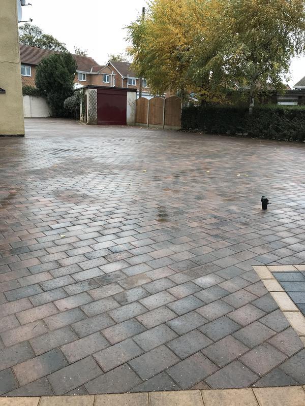 Image 26 - Block paved driveway